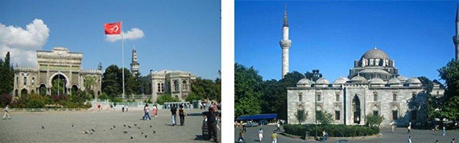 Süleymaniye Tepesi Vapurla seyahat ettiğimizde ilgimizi çeken bu bölge, deniz seviyesinden 50 metre kadar yüksektedir. Mimar Sinan'ın kalfalık eseri olan Süleymaniye Camii ile daha da ihtişamlı gözüken tepede kütüphane, hastane, hamam, imaret, hazire ve dükkânlardan oluşan Süleymaniye Külliyesi de bulunur. Burada ayrıca Beyazıt Camii ve İstanbul Üniversitesi de yer bulunmaktadır.