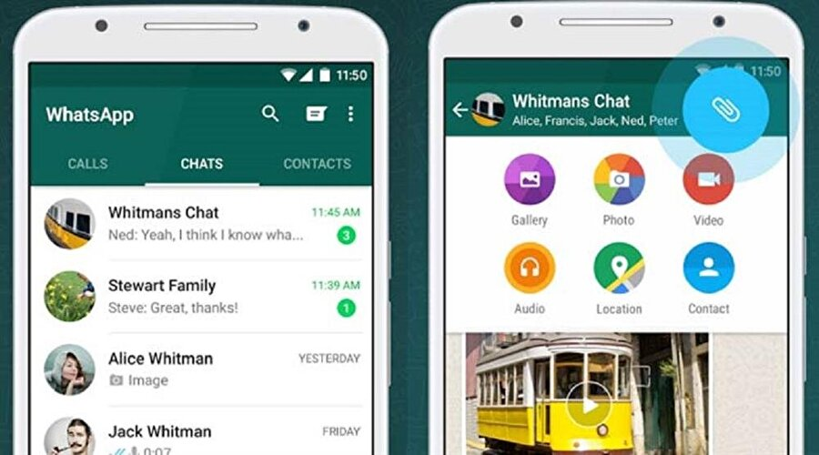 WhatsApp Android'e GIF desteği geldi                                      Şimdiye kadar yalnızca iOS yani iPhone kullanıcılarının yararlanabildiği GIF özelliği sonunda Android telefonlara da geldi. Bu sayede WhatsApp üzerinden GIF araması yapıp, sohbetler sırasında hareketli kısa videolar gönderilebilecek.