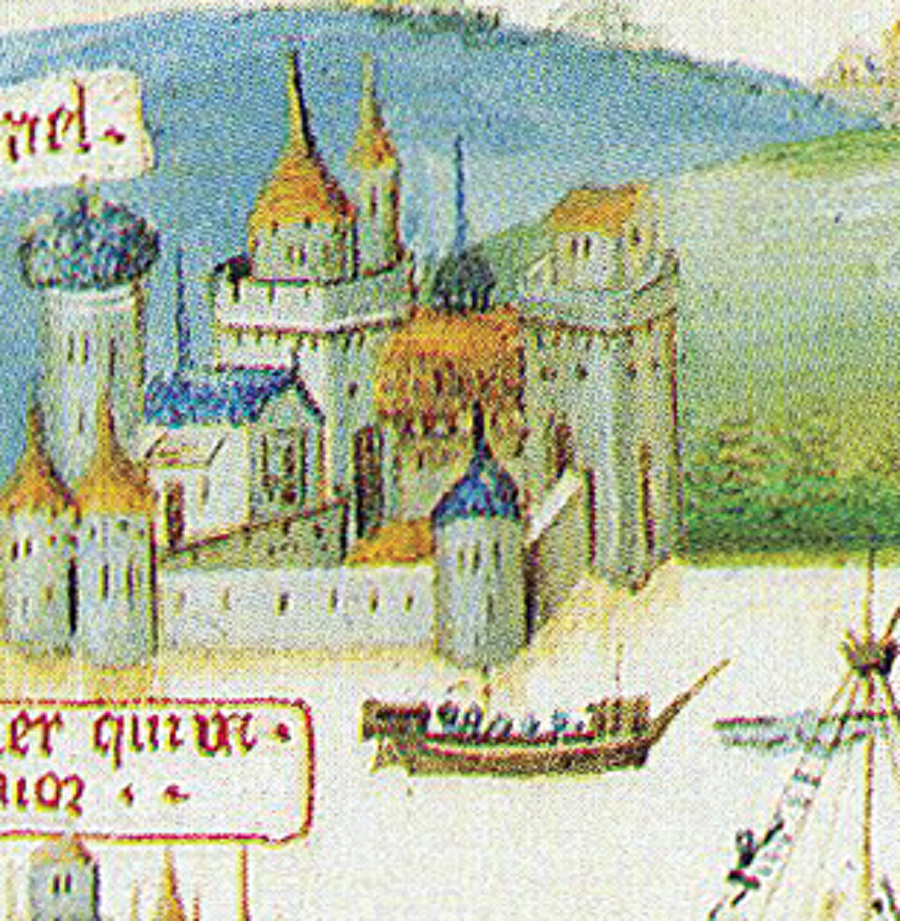 Anadolu Hisarı                                                                           Boğaz'ın Anadolu yakasında Yıldırım Bayezid tarafından inşa ettirilen hisar, Bizans ile işbirliği içerisinde olan Cenevizlilerin geçişlerini kontrol etmeyi amaçlıyordu.