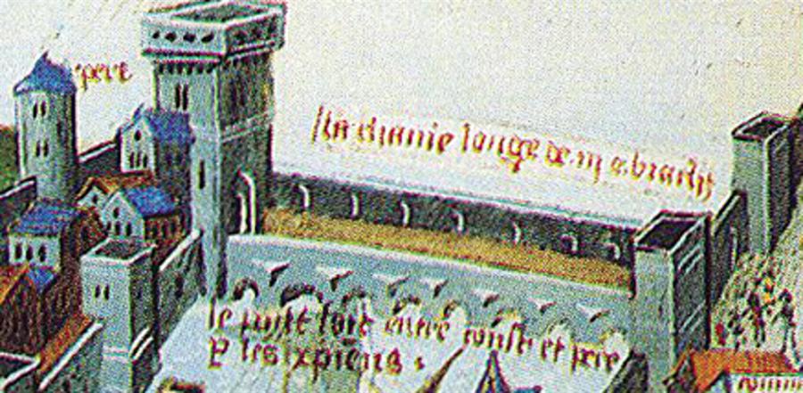 Haliç'teki zincir                                                                           Bizans Haliç'in güvenliğini liman girişine bir zincir çekerek sağlamaya çalıştı. Ayrıca 10 gemi bu zinciri korumakla görevlendirilmişti. Bu filo, zinciri geren Cenovalı Bartolomeo Soligo'nun emrindeydi. Yaklaşık 800 metre mesafe arasına çekilen zincirin Sirkeci tarafındaki yeri belli olmasına rağmen, diğer ucu hakkındaki bilgiler muhteliftir. Görüldüğü üzere zincirin etrafında ahşap dubalar bulunmakta, bunlar geçişi daha da zorlaştırmaktaydı. Yıllar sonra Osmanlılar bu zinciri Zaporog Kazaklarının baskınını önlemek için Boğaz'ın Karadeniz girişini kapatmakta kullanacaklardı.