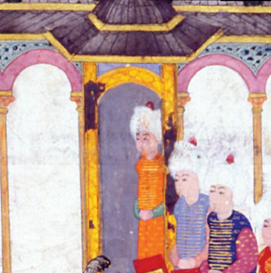 Mutluluk kapısı Devlet adamları, asker ve ulemanın katıldığı törenler Topkapı Sarayı'nın 3. kapısı olan Babüssaade önünde yapılırdı. Sultan Abdülaziz devrine kadar da cülus ve bayram törenleri bu kapı önünde cereyan etmiştir.