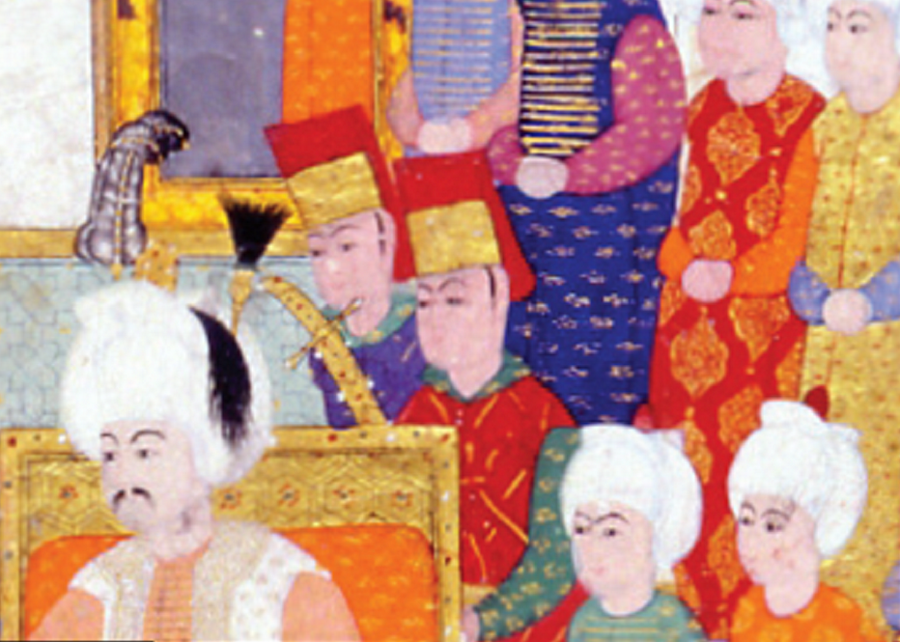Has odanın subayları 17. yüzyıl sonlarına kadar Has Oda'nın en önemli zabitleri sırasıyla Has Odabaşı, Silahtar, Çuhadar, Rikabdar, Tülbent ve Miftah gulamlarıydı. Silahtarlar padişah, sadrazam, vezir gibi büyük devlet adamlarının silahlarının korunması ve bakımından sorumluydu. Çuhadarlar ise padişahın özel hizmetindeki yüksek rütbeli ağalardan biriydi.