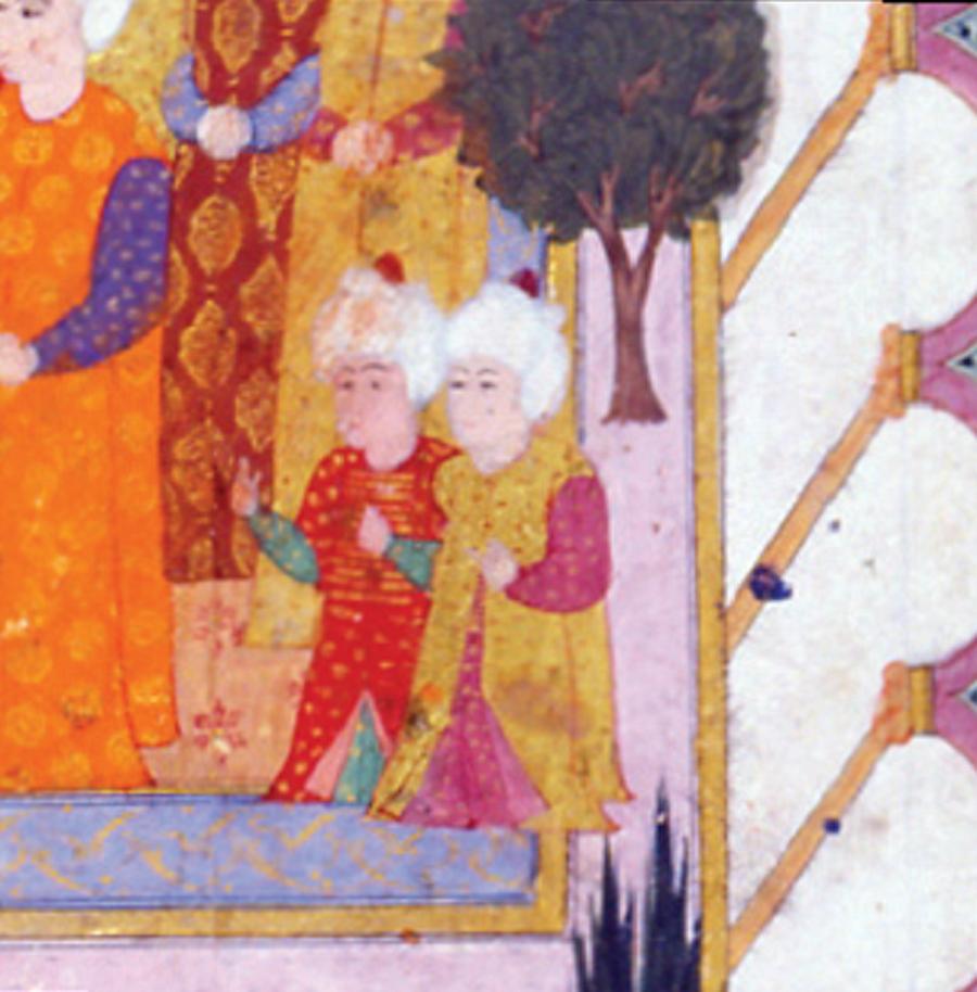 Enderunlu cüceler Avrupa'da olduğu gibi Osmanlı Sarayı'nda da padişahı ve saray halkını eğlendirmek amacıyla törenlerde cüceler yer alırdı. Bu arada belirtelim: Cüceler Enderun Mektebi'ne mensuptu.