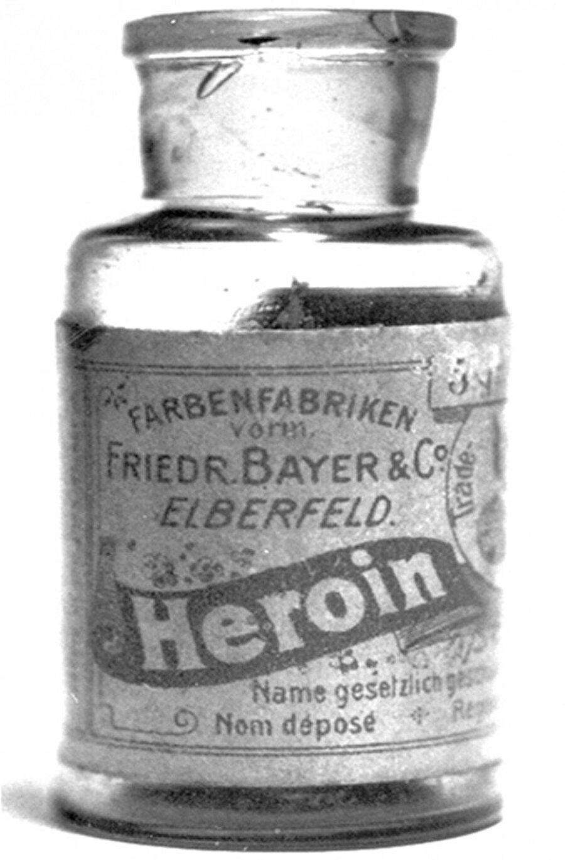 20. Yüzyılın başlarında eroin öksürük ilacı olarak kullanılıyordu.