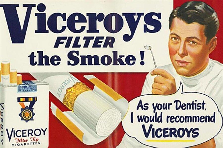 """""""Bir dişçi olarak Viceroy'u içmenizi tavsiye ediyorum"""""""