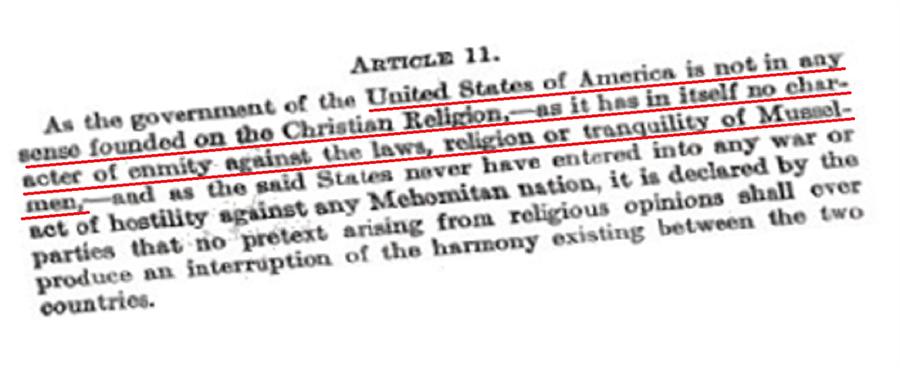 """Amerika'ya """"biz Hıristiyan değiliz"""" dedirtmiştik! ABD'nin Osmanlı Devleti'yle imzaladığı ilk anlaşmanın 11. maddesi, Birleşik Devletler'in 'kesinlikle Hıristiyanî temelde kurulmadığını' beyan eder. Devamında Müslümanlığa karşı düşmanlığı olmadığını da belirtir. 1794'ten bugüne neler değişti? Müslümanların üzerine Haçlı Seferi (Crusades) düzenlenmesi gerektiğini söyleyen, George W. Bush ABD Başkanı değil miydi yoksa?"""