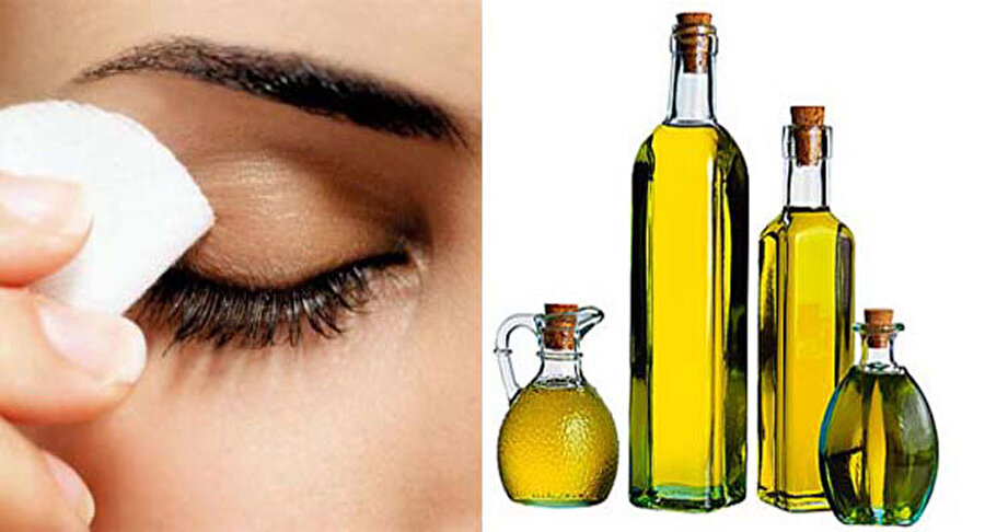 Makyaj temizleyici Makyajınızı temizledikten sonra cildinizi zeytinyağı ile arındırabilirsiniz.