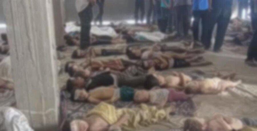 DSÖ, bu son saldırının 2013 yılında Suriye'nin Guta şehrindeki saldırıdan sonra en dehşet verici kimyasal saldırı olduğunu belirtti.                                                                                                                                                      *21 Ağustos 2013 tarihinde Şam'ın doğusundaki Guta bölgesine yapılan sarin gazı saldırısında 1729 kişi vahşice katledildi. Saldırıda kimyasal gazın kullanıldığı da kesinleşmişti.