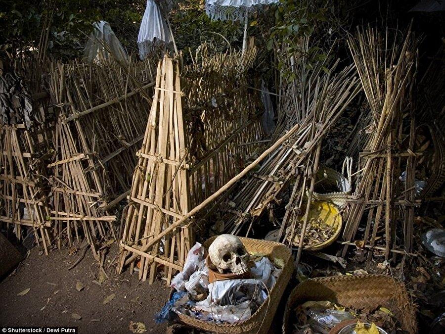 Bali'nin dağ köyü Trunyan'da son derece ilginç bir cenaze ritüeli gerçekleştiriliyor. Bu köyde ölenler ne gömülüyor ne de yakılıyor. Trunyan Köyü'nde vefat edenler bambudan yapılan özel kafeslerde çürütülüyor.