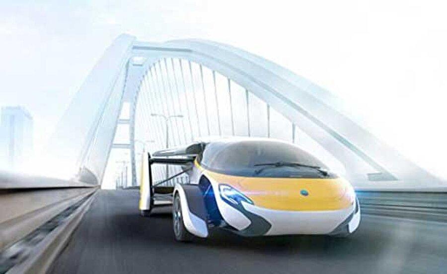 Aeromobil adlı araç ile hem karada hem de havada yol kat etmek mümkün olacak.