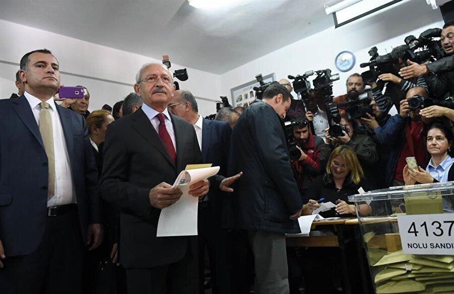 CHP Genel Başkanı Kılıçdaroğlu Ankara'da