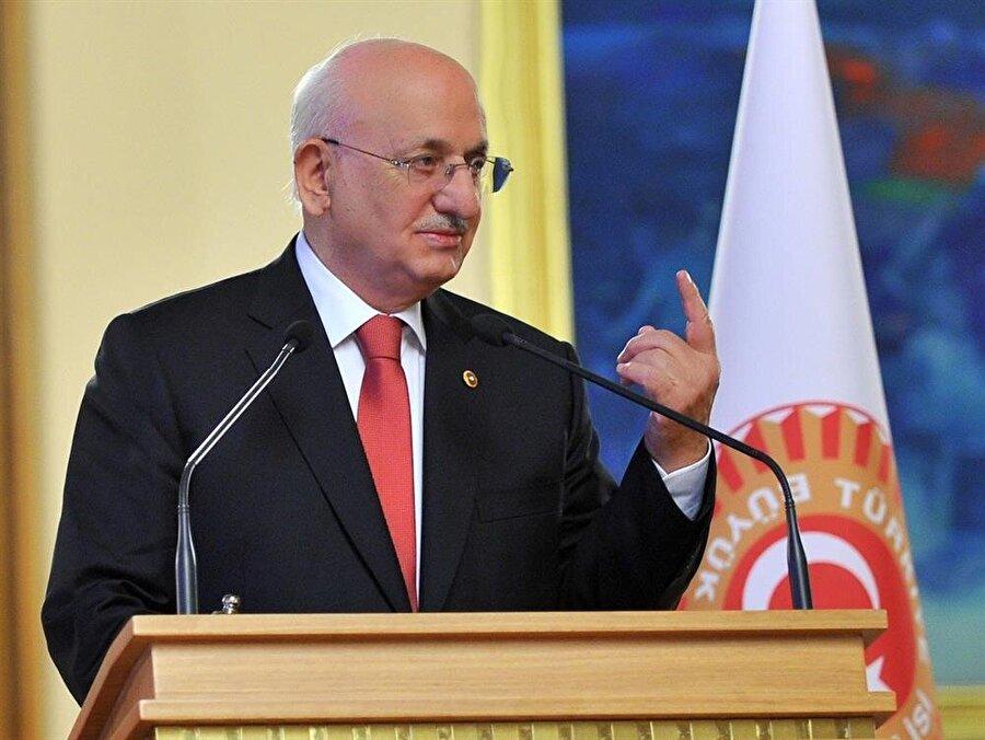 Türkiye Büyük Millet Meclisi Başkanı İsmail Kahraman Ankara'da