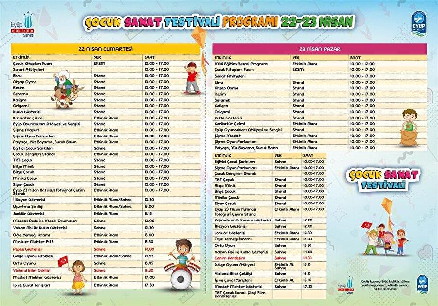 Festival programı