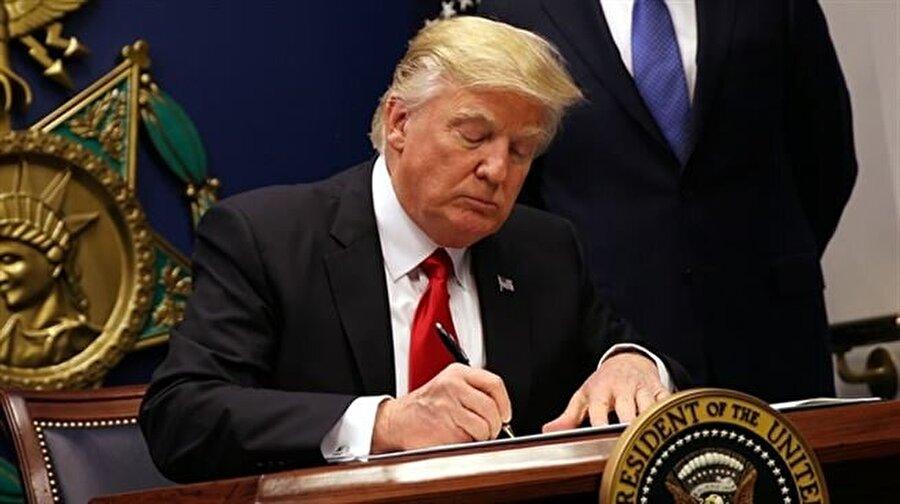 Başkan Trump imzaladı: YPG 'ağır silahlar' ile donatılıyor
