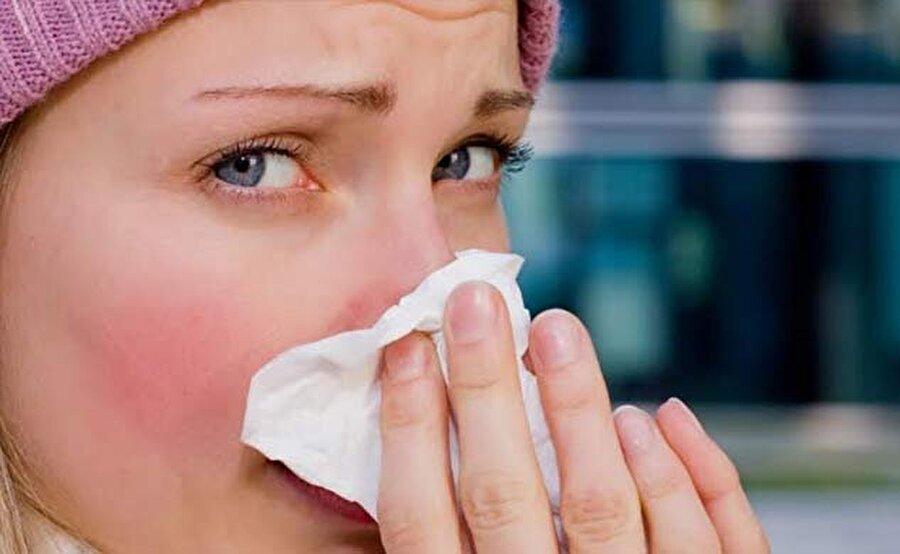 Alerjik bünyeleri etkiler                                                                           Özellikle alerjik kişilerde sık tekrarlayan hapşırıklar, burun akıntısı veya burun tıkanması, damakta kaşıntı, gözlerde yanma kaşıntı, geniz akıntısı gibi belirtiler gösterir.