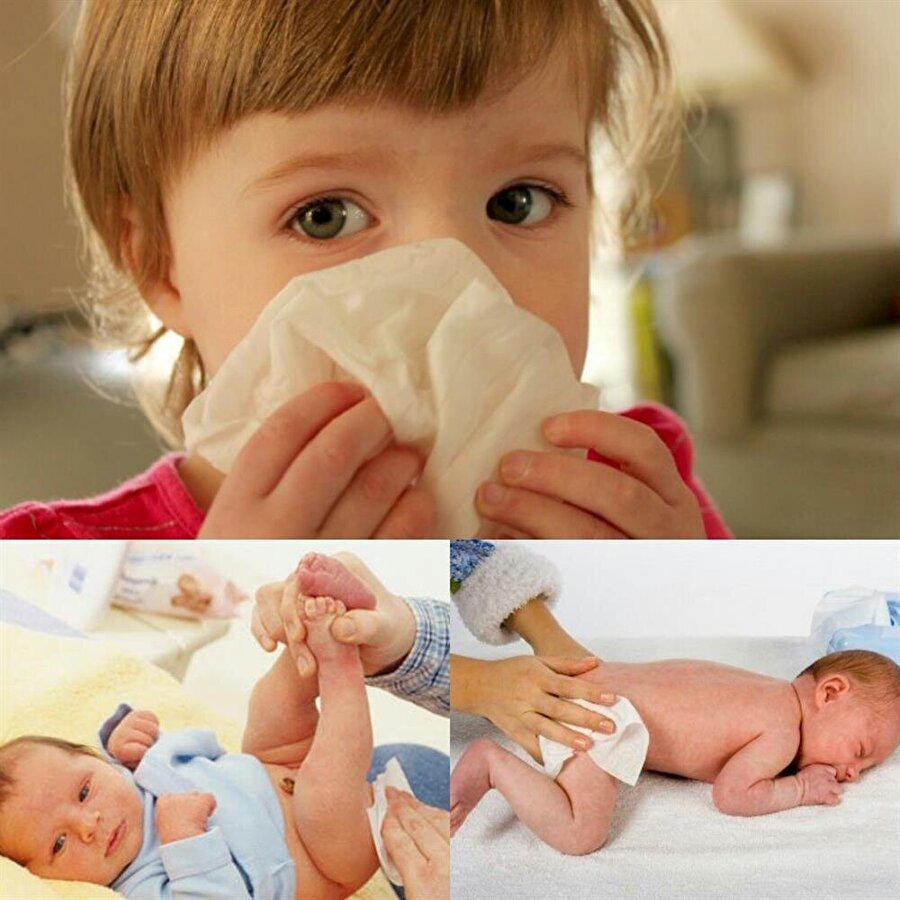 Özellikle bebek ve çocuklarda özenli olun!                                                                           Özellikle çocuklarda ve bebeklerin temizlenmesinde kullanılan ıslak mendiller, oldukça dikkatli kullanılmalı. Aksi halde; hangi marka olursa olsun bir takım cilt hastalıklarına neden olabiliyor.
