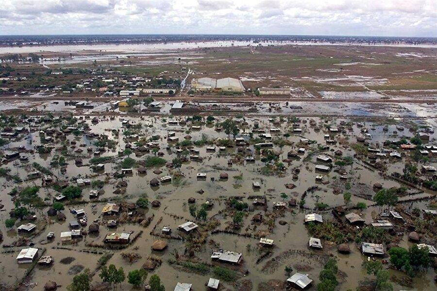 Mozambik Sel Felaketi (Mart-Nisan 2000) 2000 yılının Şubat ve Mart aylarında 5 hafta süren şiddetli yağışların sebep olduğu felaket. 1,400 km2'lik ekilebilir araziyi etkilediği için birçok insanı evsiz ve aşsız bıraktı. 800 kişinin hayatını kaybettiği felakette ve 20.000'den fazla büyükbaş hayvan da telef oldu.