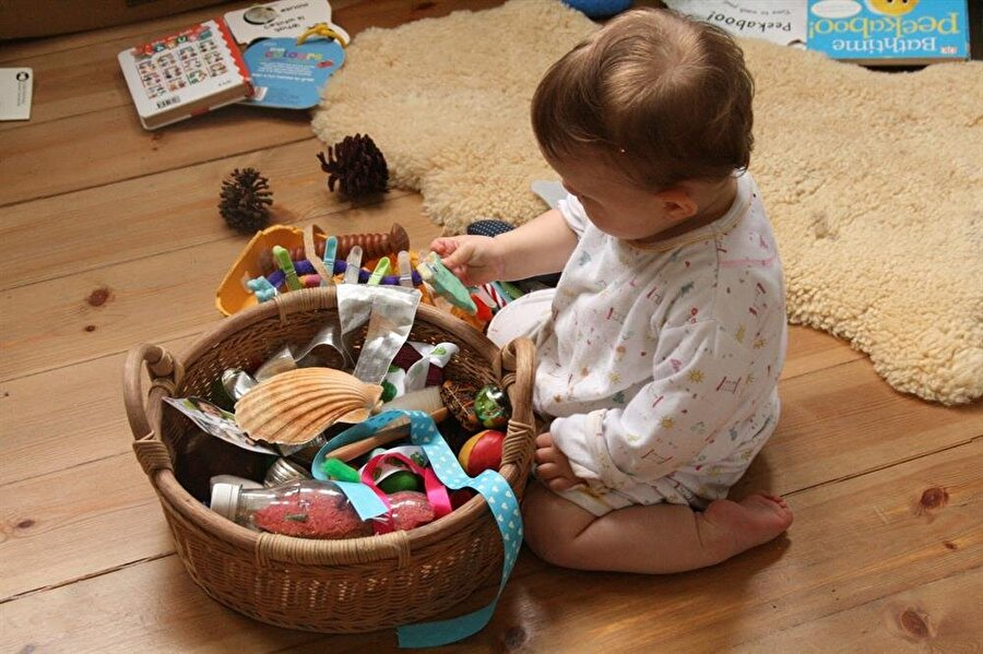 Kutu içindeki oyuncakları bulma