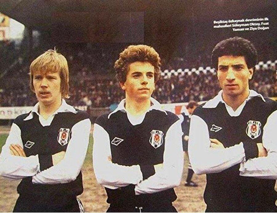 1981-82 / Süleyman Oktay, Fuat Yaman, Ziya Doğan