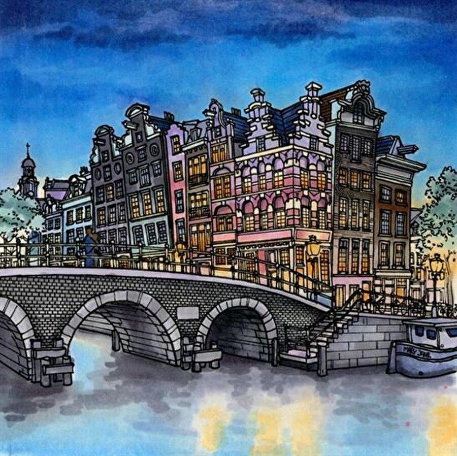 Amsterdam-Hollanda                                                                           Finali nerede yapalım derseniz, size sanatçının çalışmalarından Amsterdam'ı öneririz.