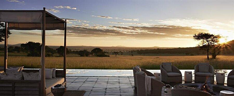 Singita Serengeti House, Tanzanya                                      Gecelik: 9,155 $