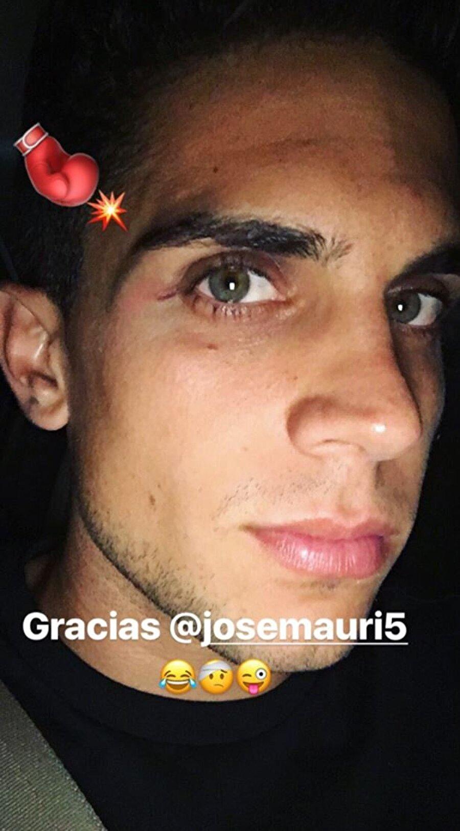 """Marc Bartra'nın paylaşımı """"Teşekkürler Jose Mauri"""""""