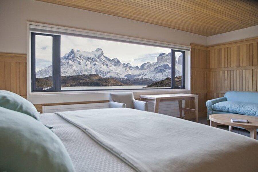 Patagonya, Torres del Paine, Şili                                      Gecelik: 8,184 $