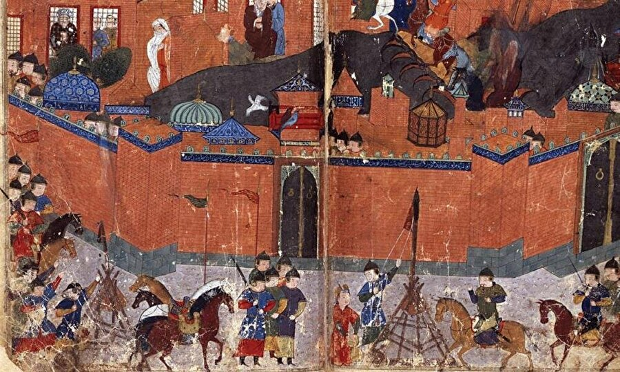 """Selçuklu'nun cenneti de vahşete yenik düştü İbnü'l-Esîr'in, şüphesiz abartılı olarak, 200 bin kişilik bir İslam ordusu tarafından korunduğunu kaydettiği Merv, tıpkı diğer yerler gibi Moğollara direnemedi.Şehrin bütün ileri gelenlerini işkenceyle öldüren ve biraz malı-mülkü olanları katleden işgalciler, hazine aramak için Selçuklu hükümdarı Sultan Sancar'ın mezarını bile yağmaladılar.İranlı tarihçi Cüveynî'nin ifadesiyle, """"nüfusu Nisan yağmurunun damlalarıyla boy ölçüşebilecek kadar çok"""" olan Merv'de 1 milyon 300 bin, İbnü'l-Esîr'e göre ise 700 bin kişi katledilmişti.Vahşetten Nişabur da payını aldı. Cengiz Han'ın damadı Toğaçar Noyan'ın da hayatını kaybettiği kuşatmanın ardından işgal edilen şehirde -hanın kızı tarafından verilen emir doğrultusunda- sokaklardaki kedi ve köpekler dâhil bütün canlılar katledildi. Şehir talan edildi.Eski Selçuklu merkezleri olan Herat ve Tus da aynı kaderi yaşadılar."""