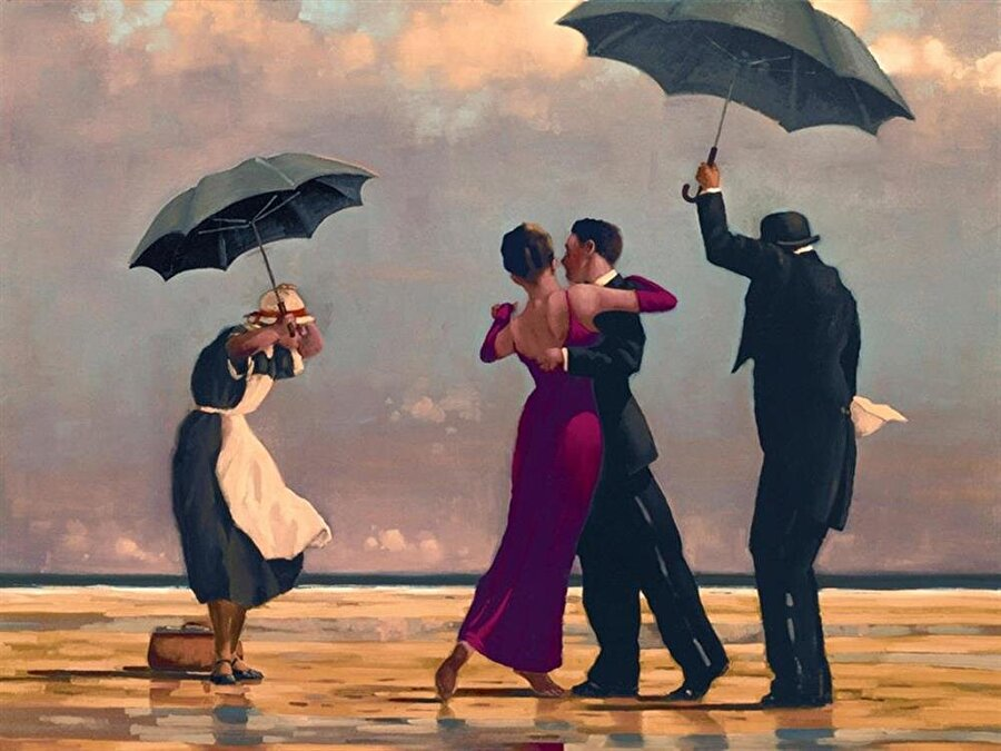 Jack Vettriano, The Singing Butler (1992)