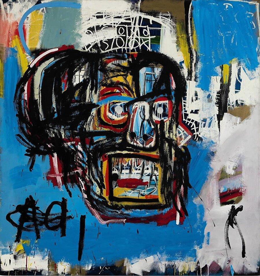 Jean-Michel Basquiat' tablusu                                      Dünyanın en pahalı tablosu olan Jean-Michel Basquiat'ın İsimsiz eserinden 2 adet