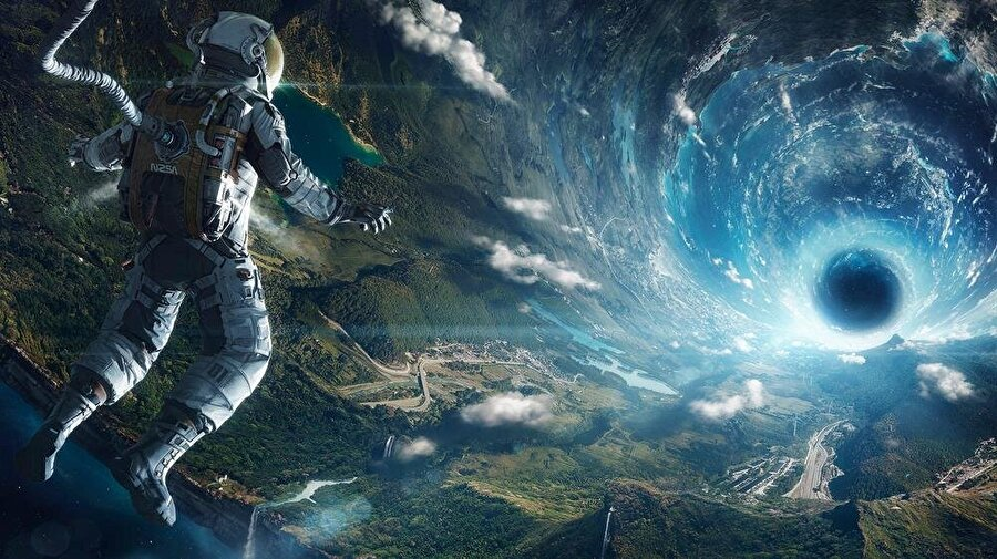 Uzaya yolculuk                                      Uzaya bin kez yolculuk yapabilirsiniz.