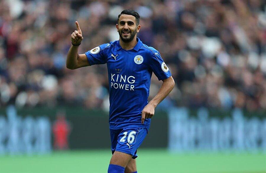10. Riyad Mahrez                                                                           Leicester City