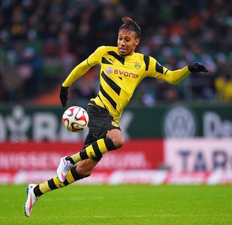 8.  Pierre-Emerick Aubameyang                                                                           Borussia Dortmund