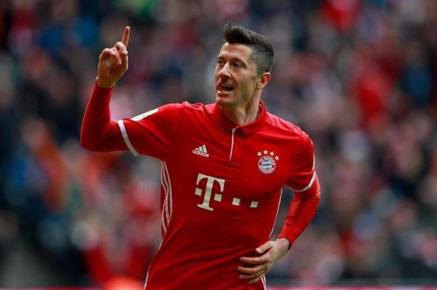 7. Robert Lewandowski                                                                           Bayern Münih