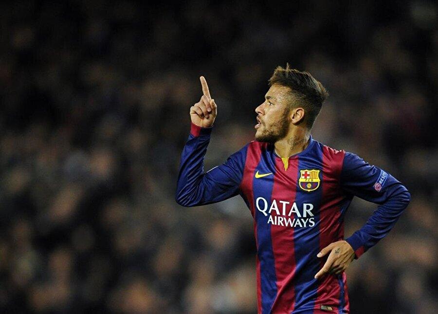 5. Neymar                                                                            Barcelona