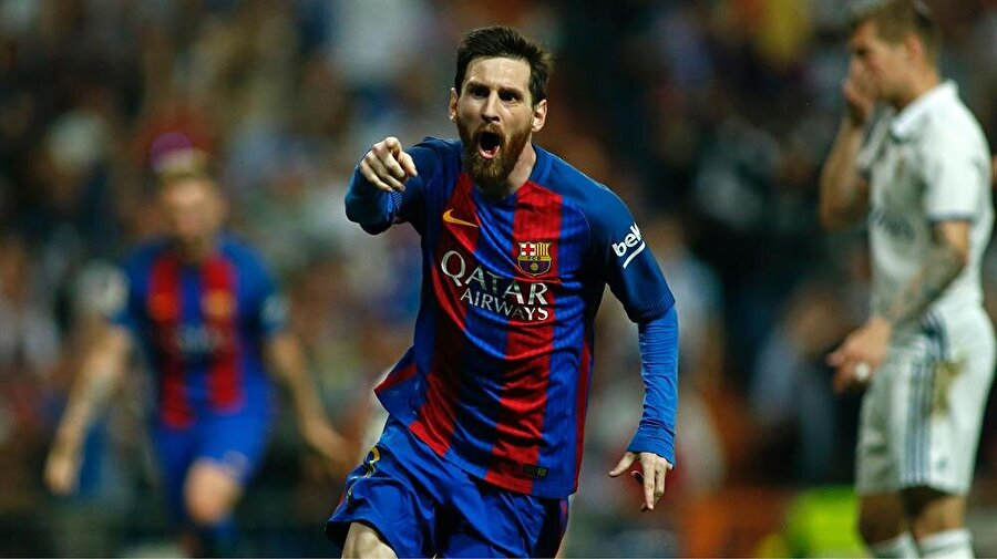 2. Lionel Messi                                                                            Barcelona
