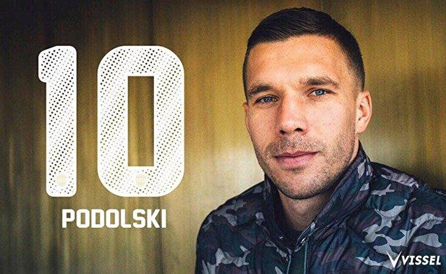 Lukas Podolski                                                                                                                                                     Eski Takımı: GalatasarayYeni Takımı: Vissel Kobe