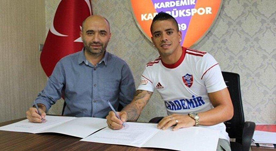 Luis Ibanez                                                                                                                Eski Takımı: TrabzonsporYeni Takımı: Karabükspor