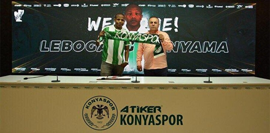 Lebogang Manyama                                                                                                                                                     Eski Takımı: Cape Town CityYeni Takımı: Atiker Konyaspor