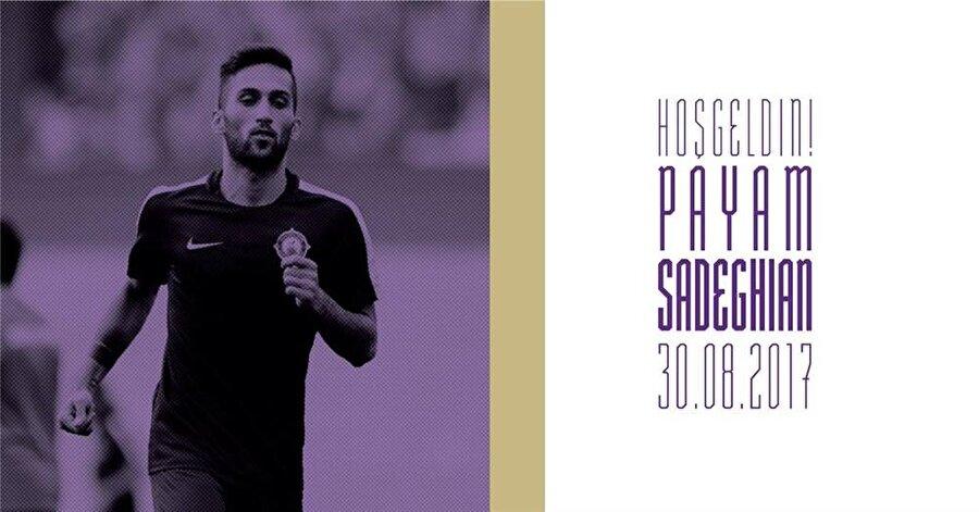 Payem Sadeghian                                                                                                                                                     Eski Takımı: Machine SaziYeni Takımı: Osmanlıspor