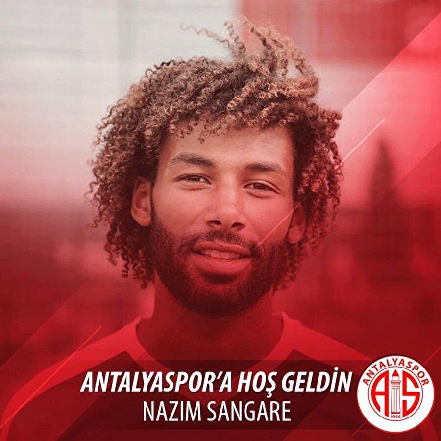 Nazım Sangare                                                                                                                                                     Eski Takımı: OsnabrückYeni Takımı: Antalyaspor