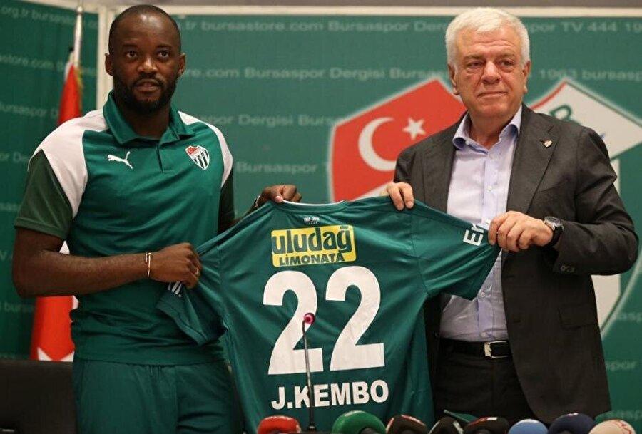 Jires Kembo Ekoko                                                                                                                                                     Eski Takımı: Al NasrYeni Takımı: Bursaspor