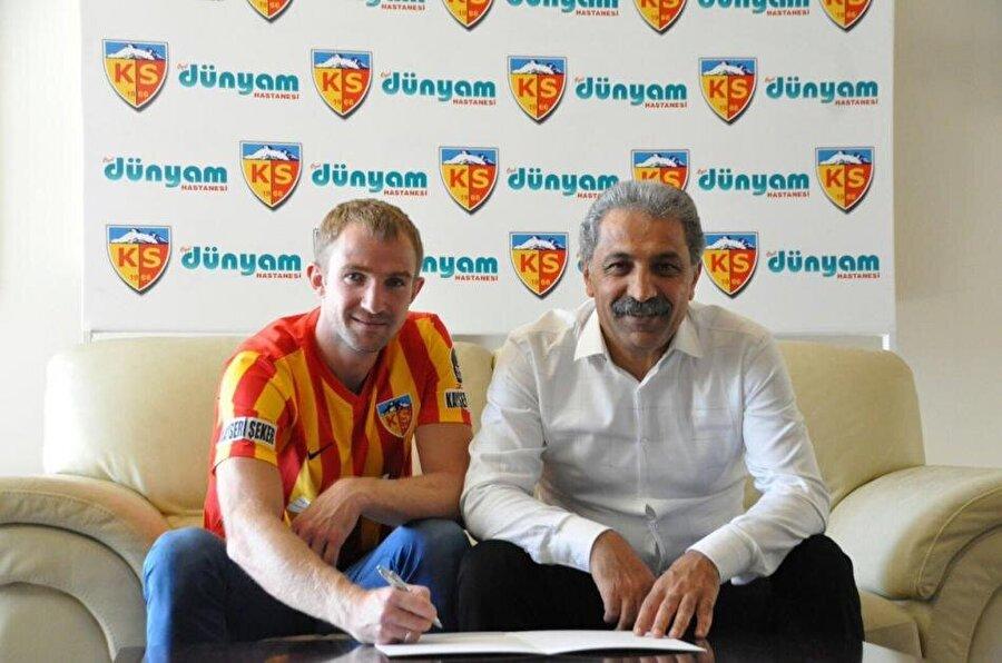 Oleksandr Kucher                                                                                                                                                     Eski Takımı: Shakhtar DonetskYeni Takımı: Kayserispor