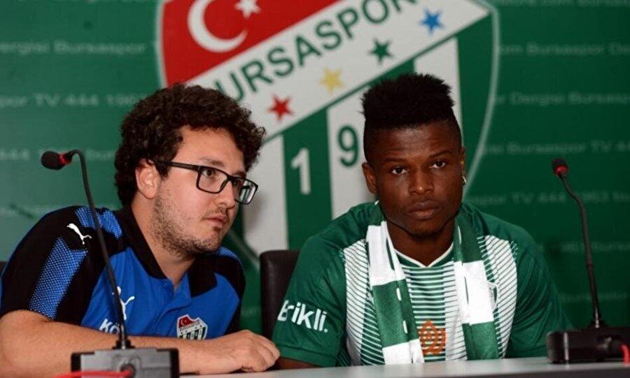 Mikel Agu                                                                                                                                                     Eski Takımı: PortoYeni Takımı: Bursaspor