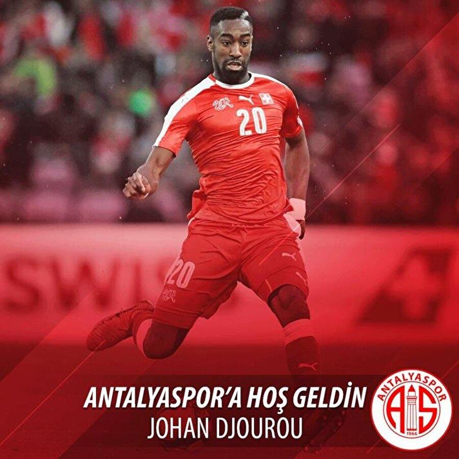 Johan Djourou                                                                                                                                                     Eski Takımı: HamburgYeni Takımı: Antalyaspor