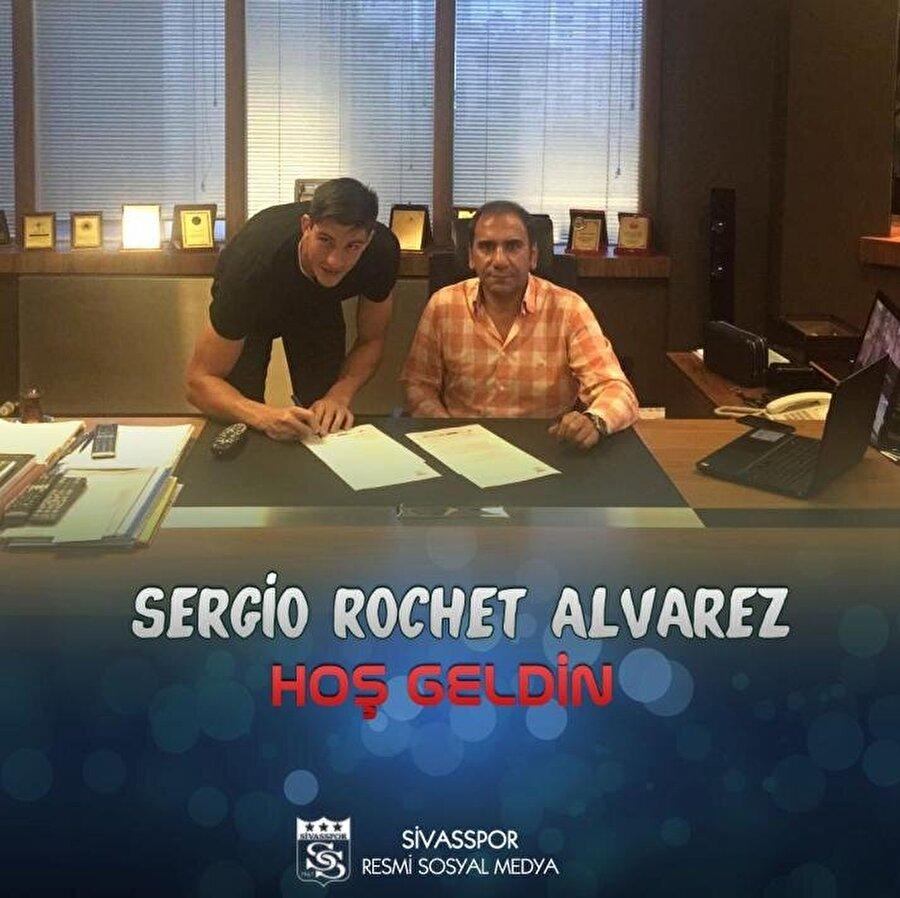 Sergio Rochet Alvarez                                                                                                                                                     Eski Takımı: AZ AlkmaarYeni Takımı: Demir Grup Sivasspor