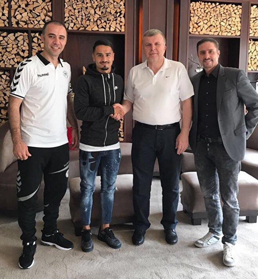 Musa Araz                                                                                                                                                     Eski Takımı: LausanneYeni Takımı: Atiker Konyaspor
