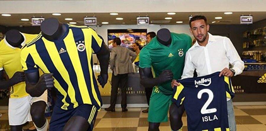 Isla                                                                                                                                                     Eski Takımı: CagliariYeni Takımı: Fenerbahçe