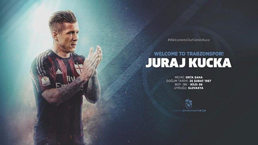 Juraj Kucka                                                                                                                                                     Eski Takımı: MilanYeni Takımı: Trabzonspor