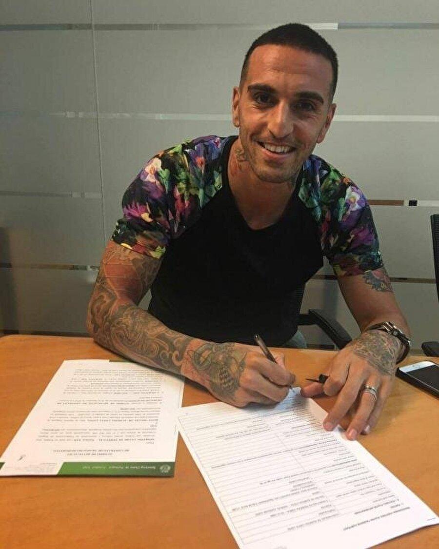 Miguel Lopes                                                                                                                                                     Eski Takımı: Sporting LizbonYeni Takımı: Akhisar Belediyespor